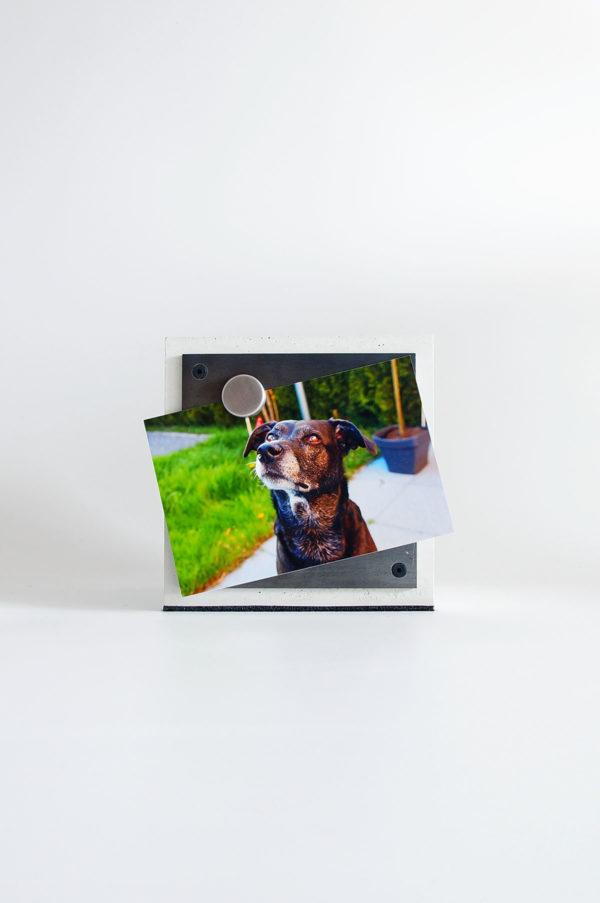 Tierbestattung, Tierurne für Hunde und Katzen aus Beton mit Cor-ten oder Edelstahl